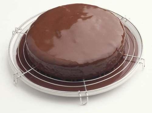 choc icing cake